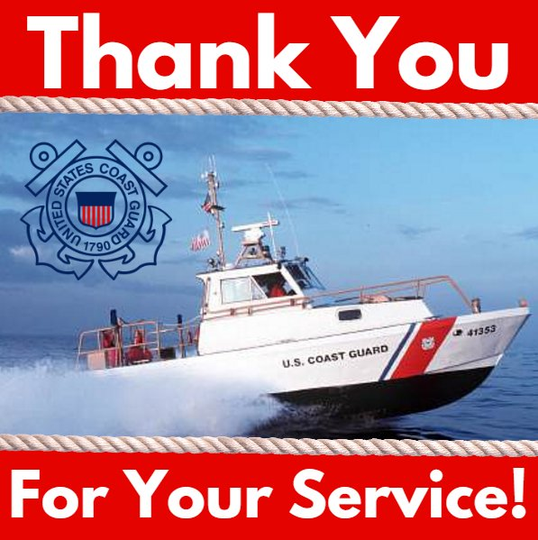 Thank you @USCG  for your 226 years of service to keep our waters safe. #NationalCoastGuardDay https://t.co/Vy8KIP0X9y