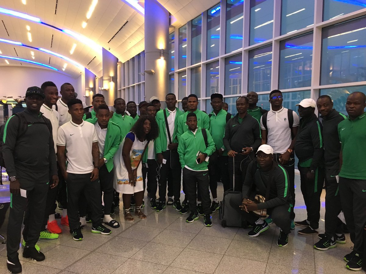 .@Delta carries Nigerian men's football DreamTeam to Brazil after being stranded in ATL.
