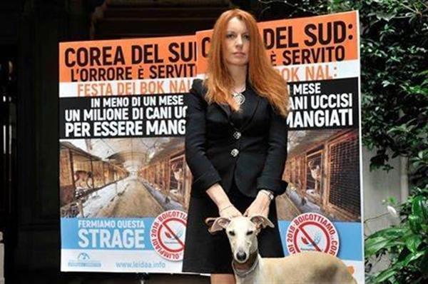 【スポーツ異聞】美人すぎるイタリア元観光相が韓国の犬肉食文化にかみ付いた! やめない限り平昌五輪を「…