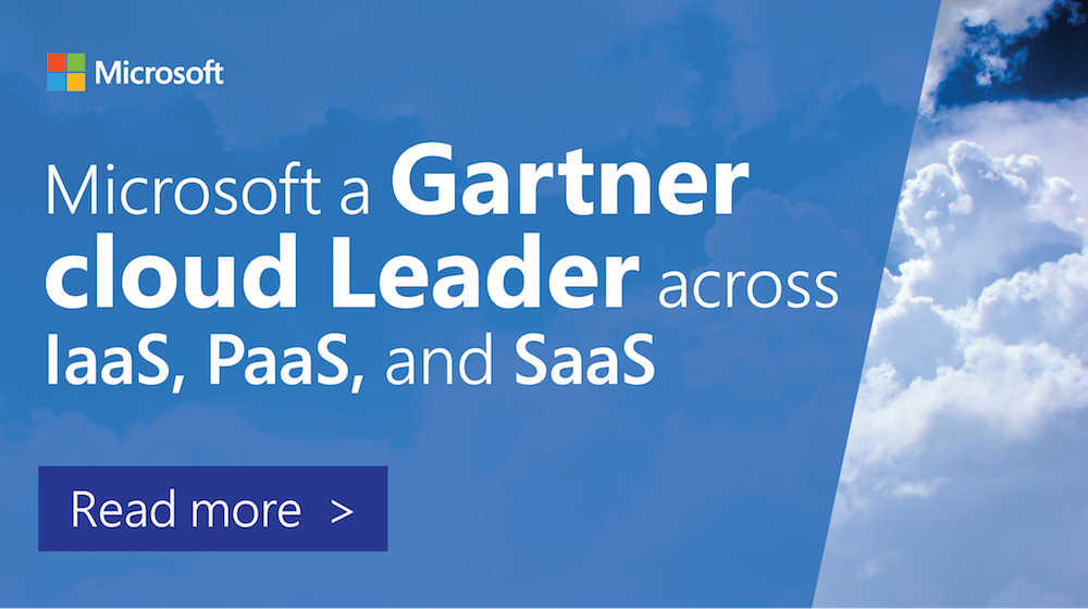 For the third straight year, @Gartner_Inc recognizes @Azure as a Leader in the IaaS MQ. https://t.co/WG2J1FCZfi https://t.co/zUBs67QRDZ