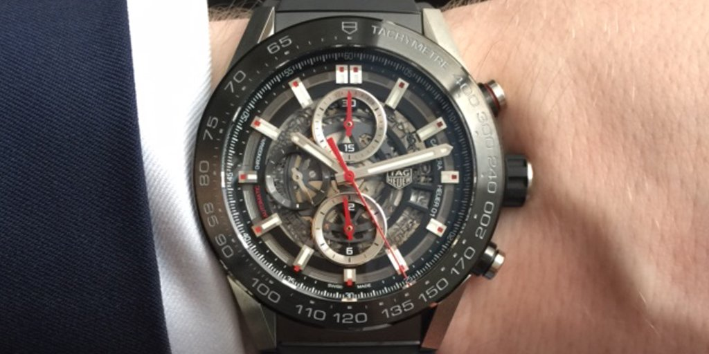 A modern approach to a race-inspired classic, the @TAGHeuer Heuer 01 Skeleton Chronograph https://t.co/T2ql3IsnVP https://t.co/0Merskreqv