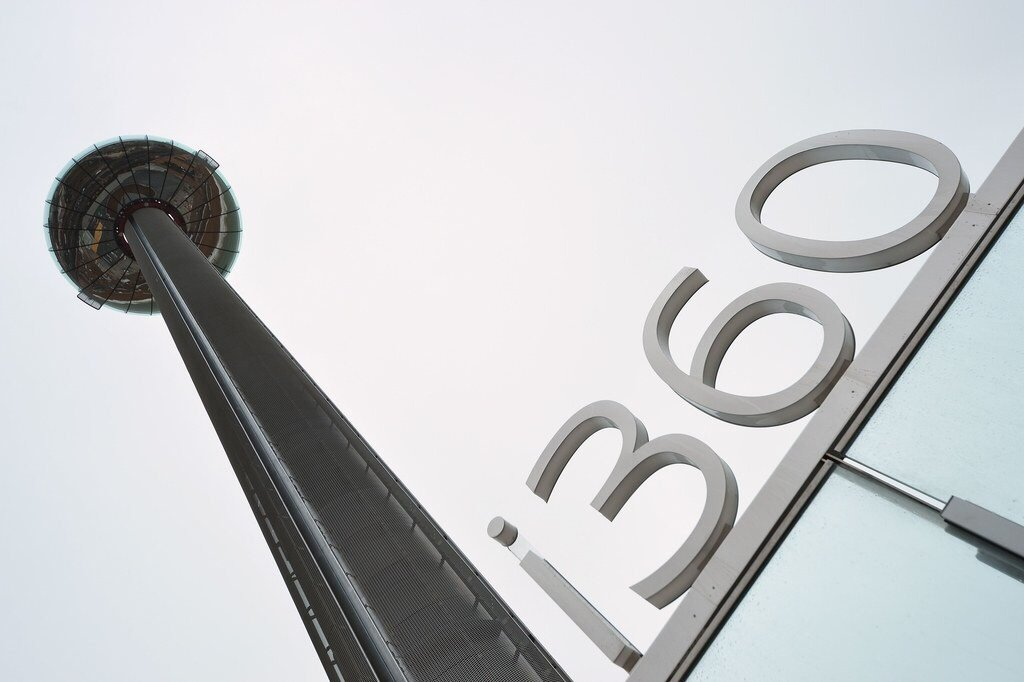 The British Airways i360 Opens in Brighton, England