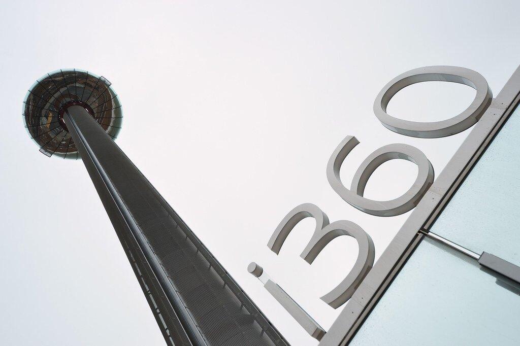 The British Airways i360 Opens in Brighton, England