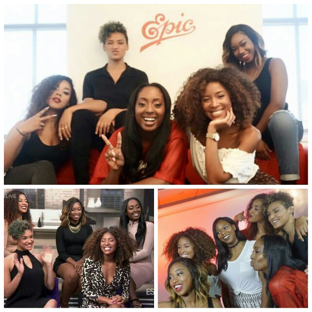 Had the pleasure of glamming the beauties of @junesdiary for the past 3 days #junesdiary #dontbealance #epicrecords https://t.co/d3VzSEMuaQ