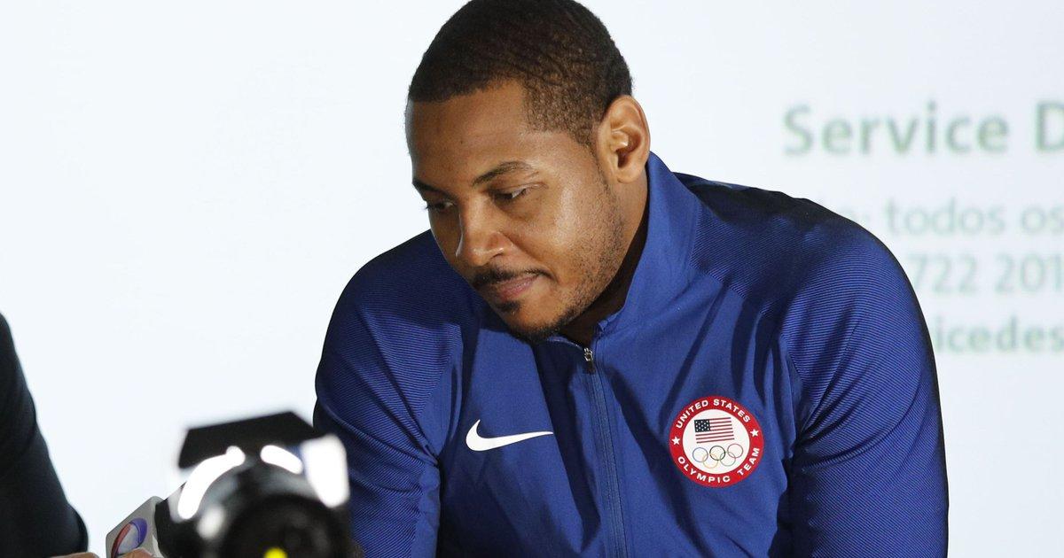 Olympian Carmelo Anthony recalls dark days of Team USA basketball