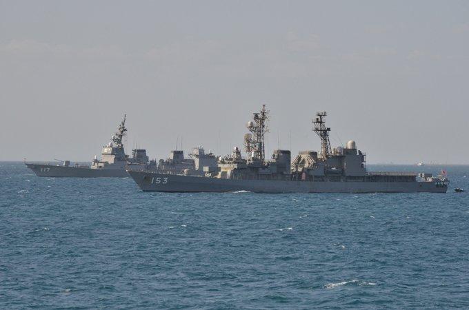 【海上自衛隊Facebook更新】 派遣海賊対処行動水上部隊の記録を掲載しました。⇒ faceboo…