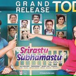 RT @editorsuresh: #SrirastuSubhamastu releases today. Good luck to @GeethaArts @AlluSirish @MusicThaman and entire team! https://t.co/BqjQJ…