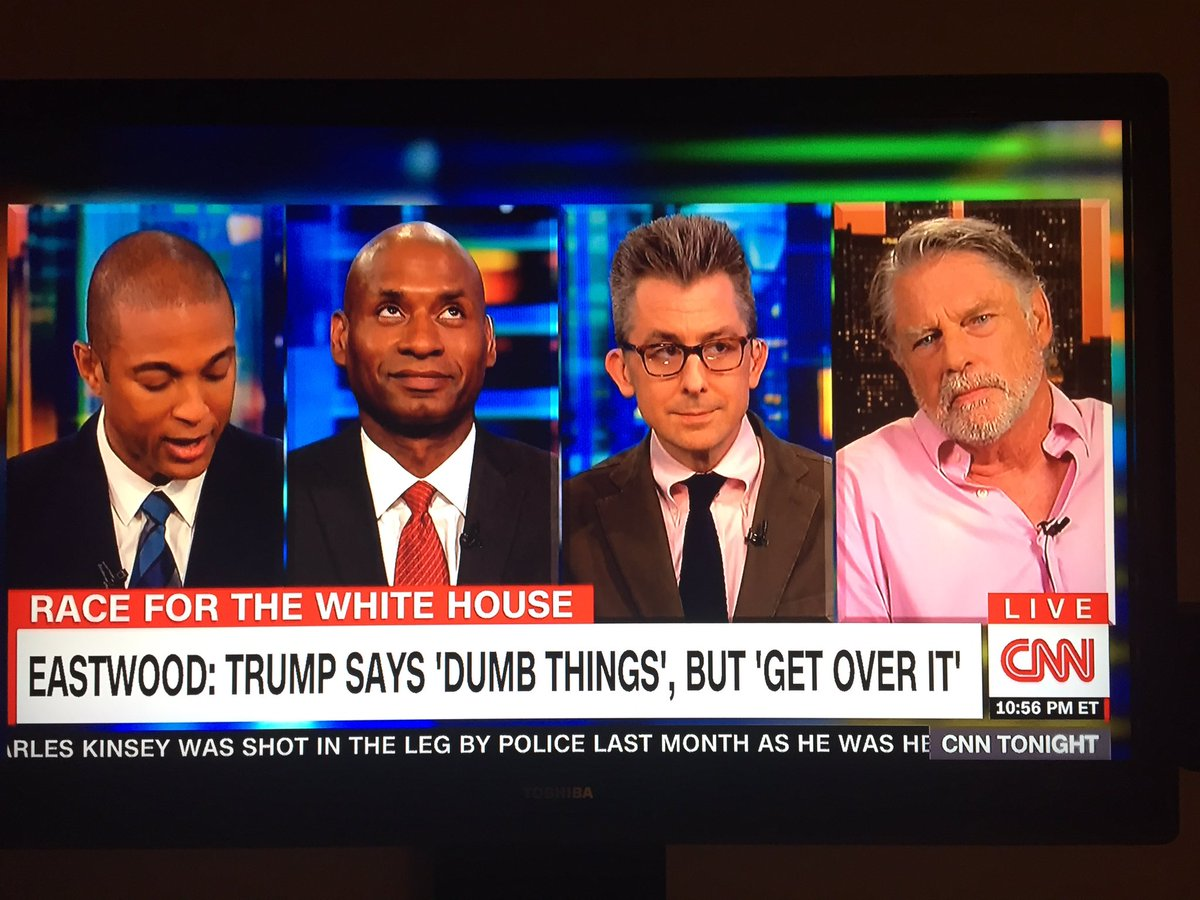 Glad I wasn't the only one rolling & side-eying Graham Beckel on @cnn. Can't believe @donlemon held it together. https://t.co/PKiIcJeB8r