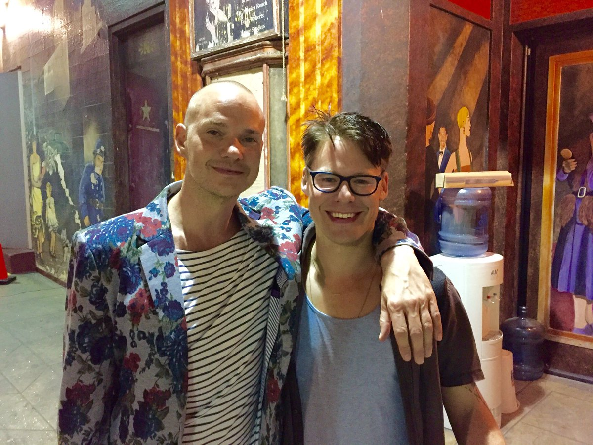 So happy that @ThePeterPaige & I got to see @RandyHarrison01 be brilliant in @Cabaret_Musical before it leaves LA! https://t.co/kbEM707Ouu