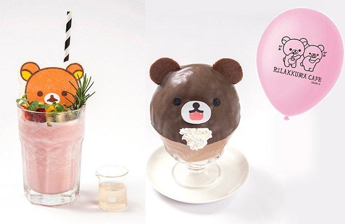 「リラックマカフェ in はちみつの森」が名古屋パルコに期間限定オープン fashion-press…