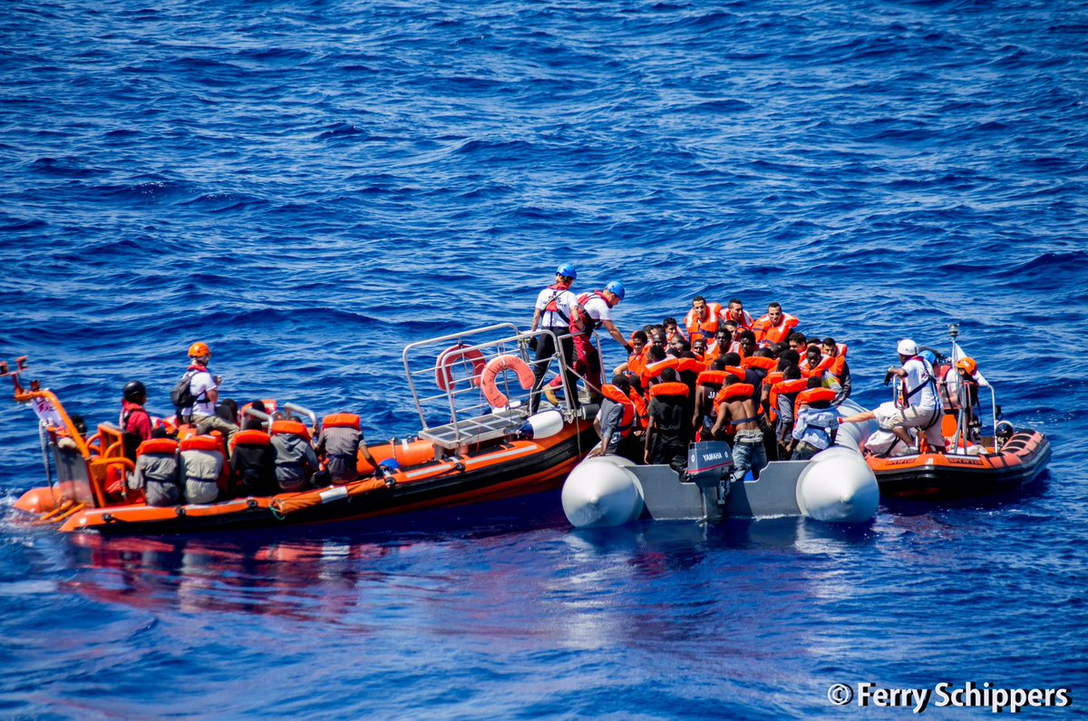 RT @MSF_Sea: BREAKING: Everyone on this boat now safely on #Aquarius. Including an 8 y/o boy and his mum. https://t.co/7BESNZd7Hh