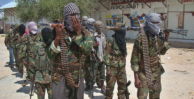No, Shabaab militants have not surrounded a village in Isiolo