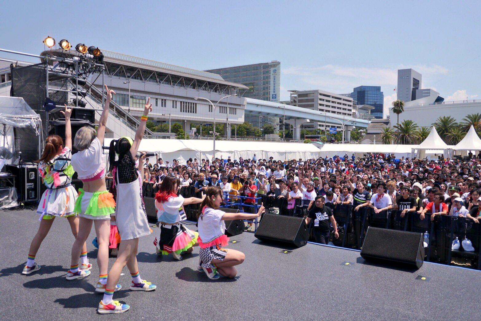 TIF2016 1日目 妄想キャリブレーション  @SHIP STAGE  #TIF2016 https://t.co/rFO2k5tIXe