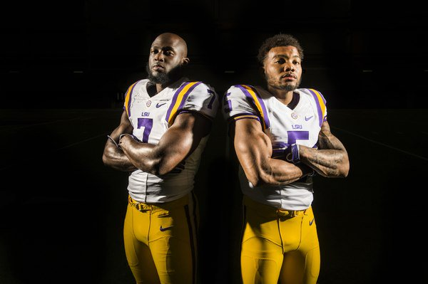 ".@LSUfootball began fall camp yesterday, headlined by these two stud running back ""brothers"" https://t.co/q0jeXqCIJd https://t.co/FxZM11LISx"