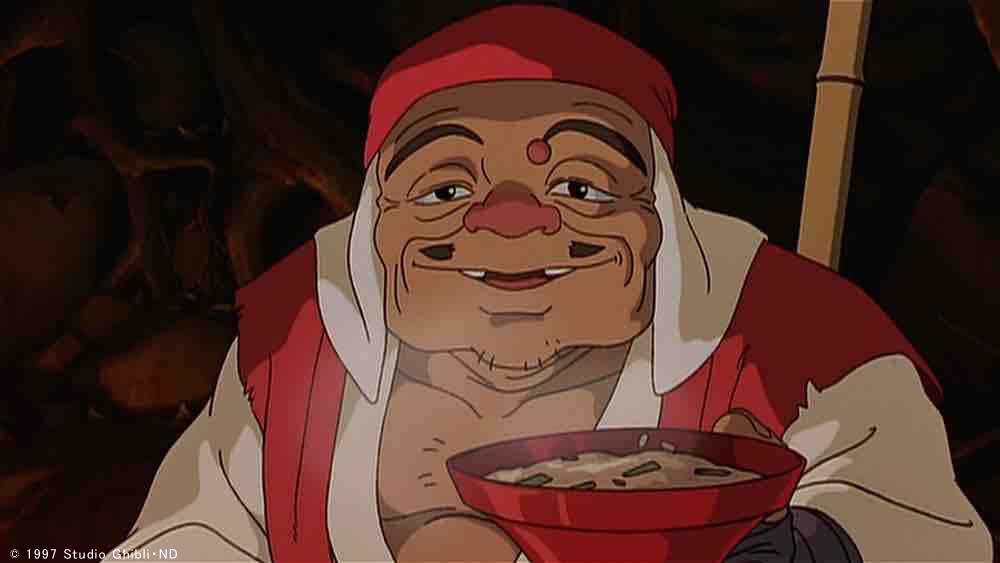 いにしえの民 このシーンでジコ坊が語る通り、アシタカはエミシ(蝦夷)の一族とされています。 宮崎駿監…