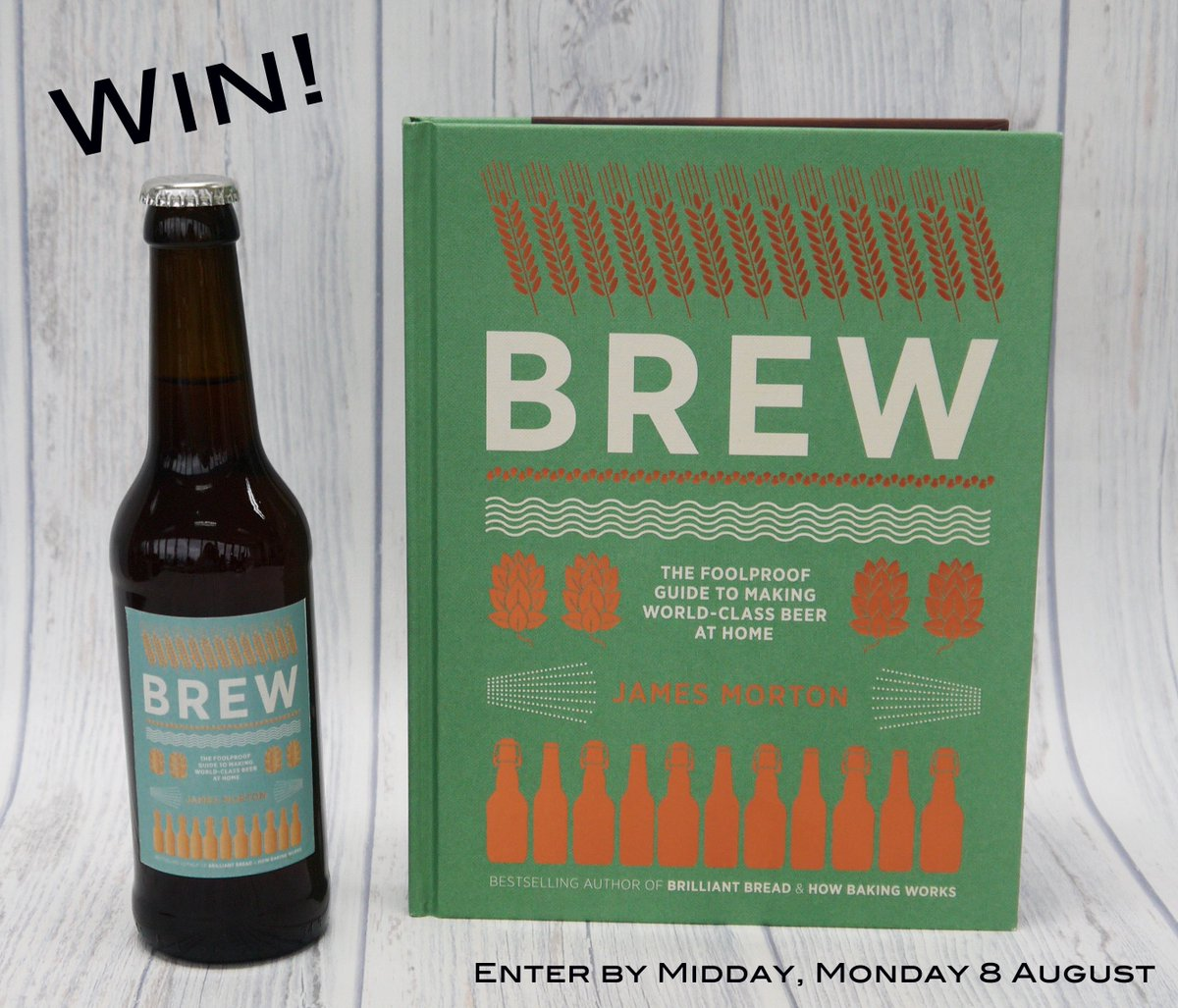 Happy #InternationalBeerDay! RT to enter our #competition to #win 6 beers & a copy of Brew! https://t.co/9cdw9rz5gu https://t.co/b2MP4cW1Iw