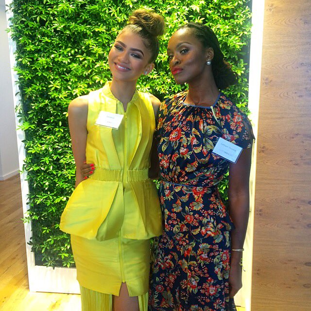 My Super Soul Sister @Zendaya and I at @Oprah's #SuperSoul100 brunch. https://t.co/kWkSVV0r46 #zendaya #oprah https://t.co/C4Is4cwHt4