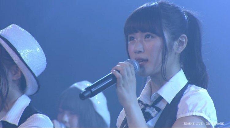 NMB48リクエストアワー、私は「虫のバラード」を歌いたいです!  この曲は、沢山悩みながら、苦しみ…