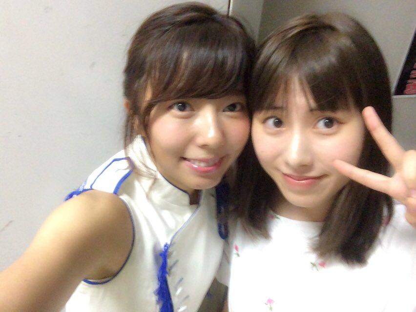 今日の公演に、私の推しメン小石公美子ちゃんが来てくれたの(*゚∀゚*)💓  卒業してからまさか会える…