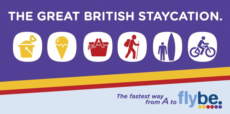 Explore the UK staycation! Fly fr £24.99 ow fr your local airport with flybe. T&C's apply
