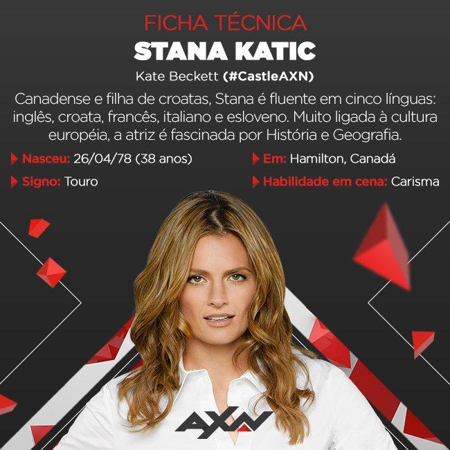 Stana Katic, de #CastleAXN, é muito mais do que uma atriz. <3 E hoje é dia de episódio inédito, às 22h. ;) https://t.co/DkdRclb1ue