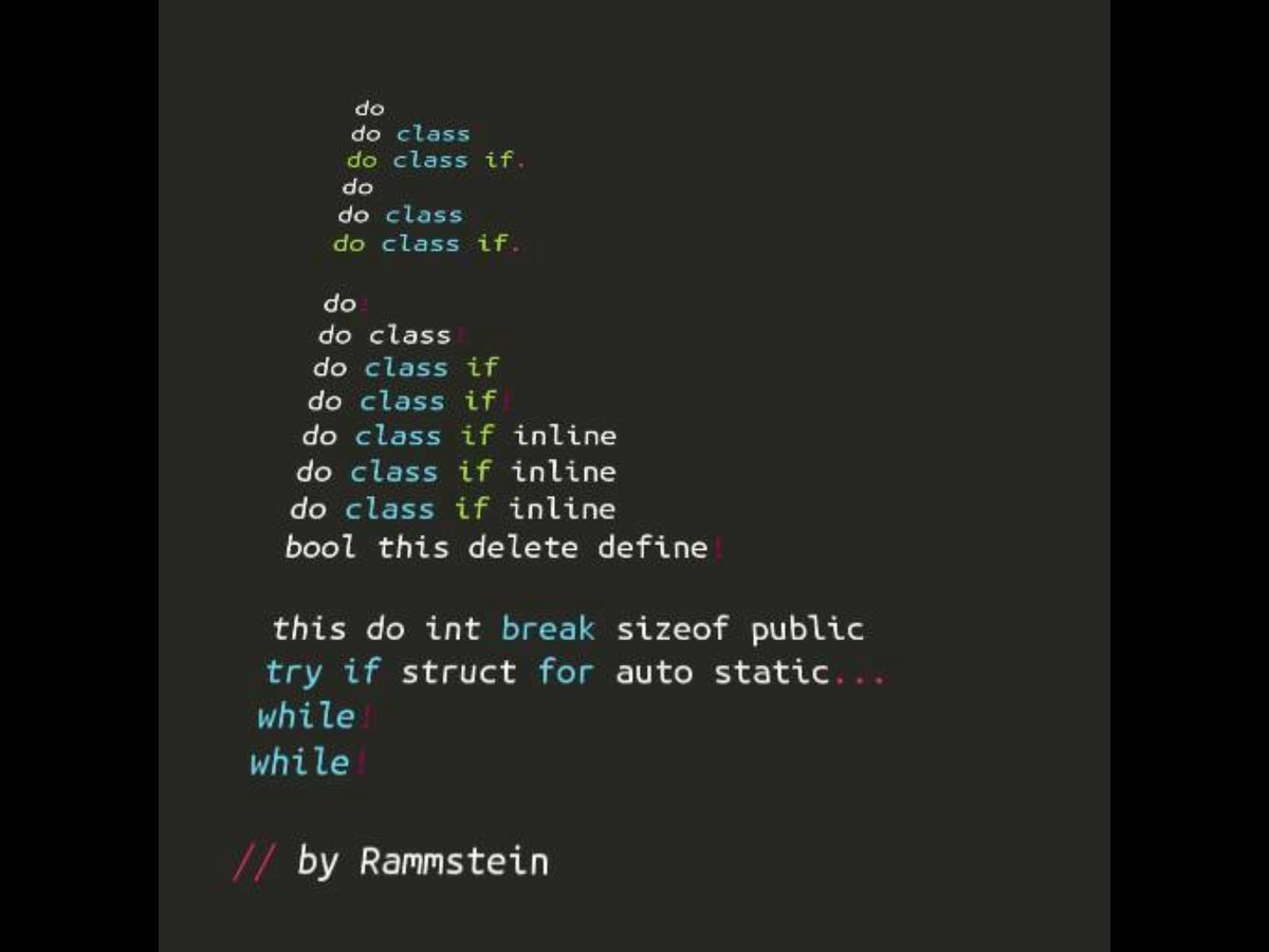 What if Rammstein were programmers? #FridayFunnies https://t.co/RrAiyb3OxJ