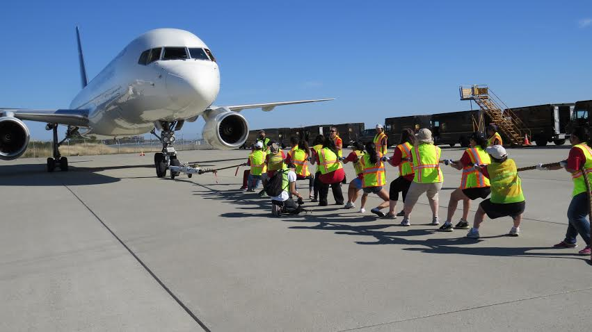 RT @604Now: The UPS Plane Pull returns to @yvrairport this summer!