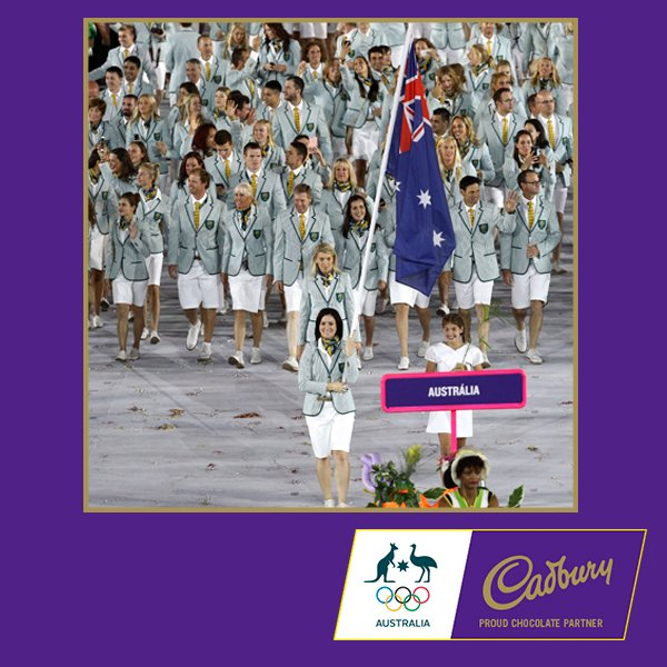 We're so proud to see Cadbury Ambassador @AnnaMeares carrying the flag for the @AUSOlympicTeam! @Rio2016 #FreeTheJoy https://t.co/iC1Nn19evy