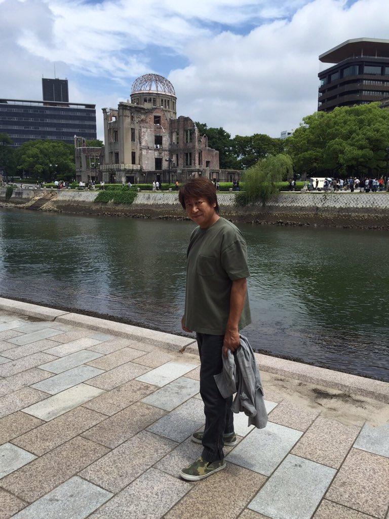 今日はヒロシマ・原爆の日。先月仕事で広島に行けて良かった。21年前に亡くなった父に挨拶出来ました。今…