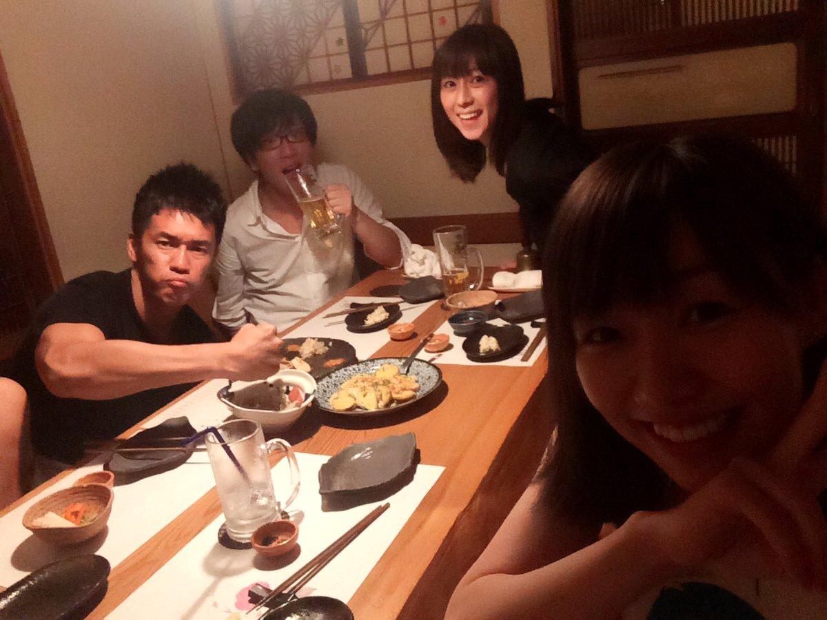 昨日は大久保さんはいられなかったですが、武井さん、おおかわらさん、小坂さんのゴチャ天メンバーで! 武…