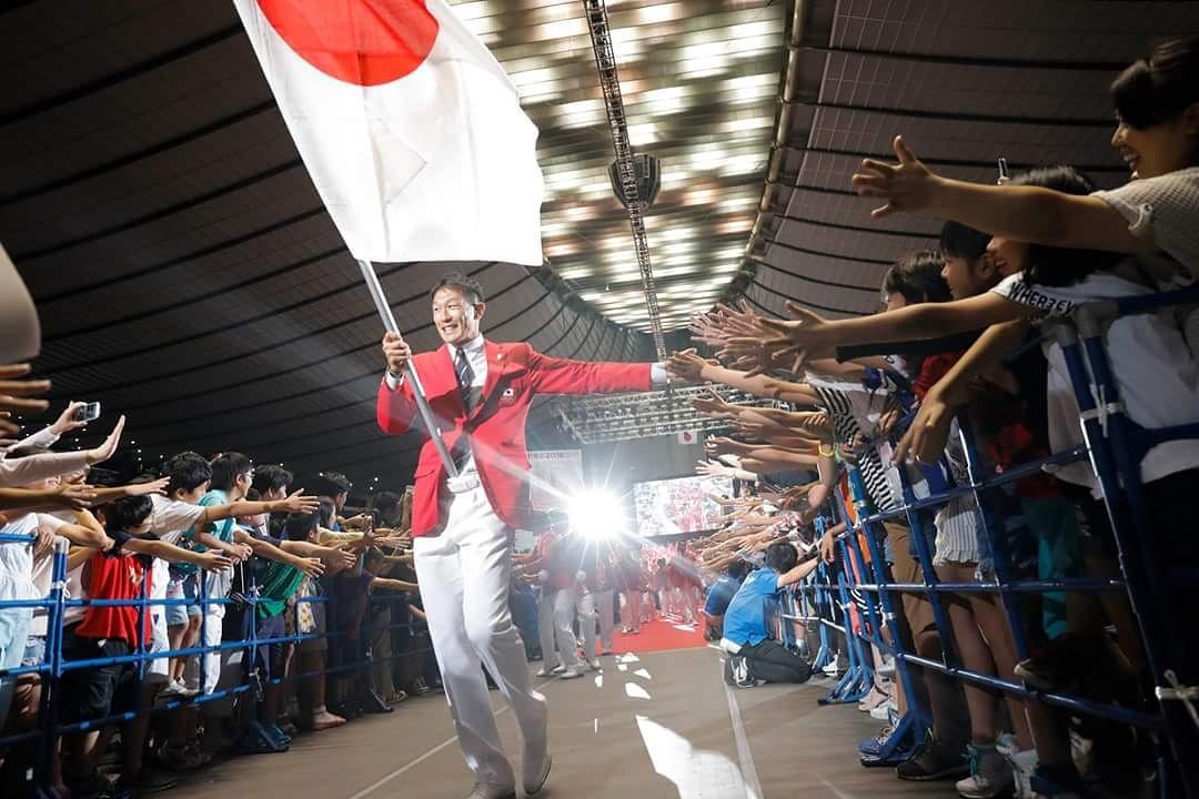 【#Rio2016】 開会式の選手入場が始まりましたね❗ #日本 代表選手団は104番目。 右代選手…