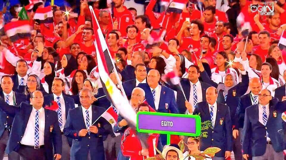 The Egyptian flag #Rio2016 #RioOlympics2016 https://t.co/cJXFxCnMfG