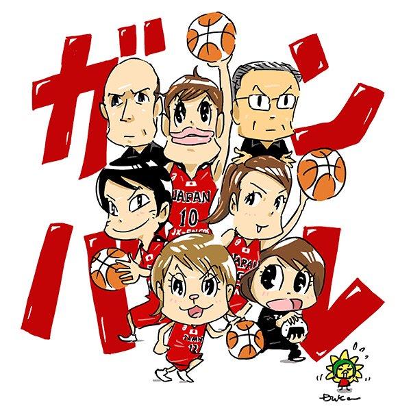 オリンピック開会式!映ってたましたね、アカツキ5。明日はいよいよ本番です。頑張れバスケ女子日本代表‼️ #wjbl #akatsukifive https://t.co/5ORkapC69G