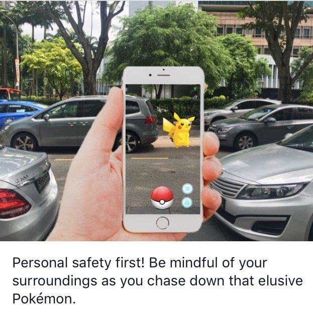 Pokémon Go is in town, remember to stay safe as you #CatchEmAll!  https://t.co/gJOrCrbLMd https://t.co/iR0sdOSbaK
