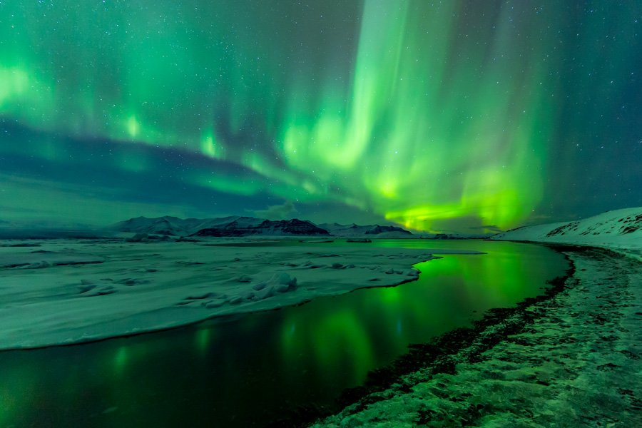 Northern Lights, Southern Iceland from February, 2016 #iceland #photography https://t.co/xFg4jM2dAi