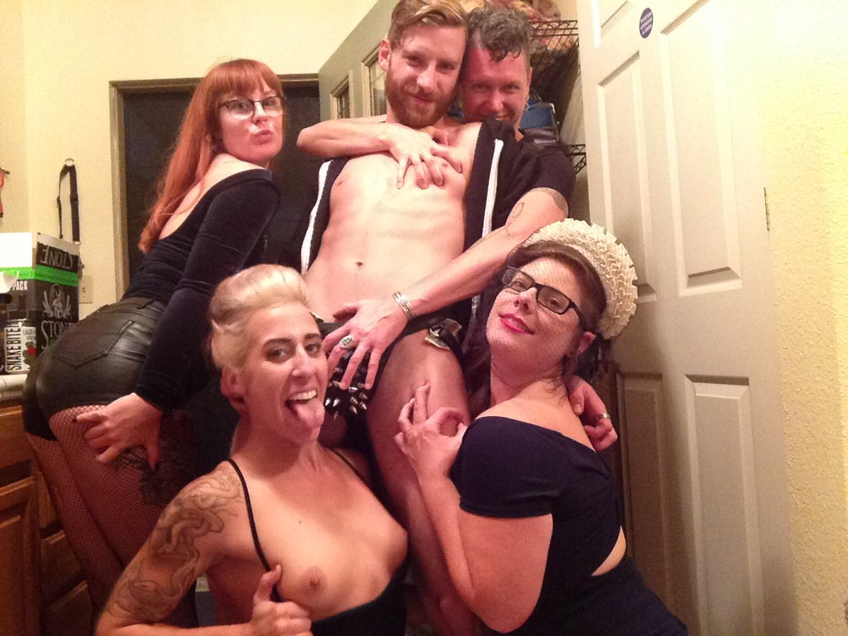 2 pic. All my friends are hot. is a great wedding party stripper. nfcYUUx