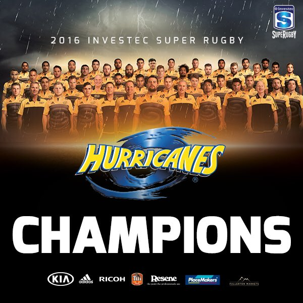 We've done it!!! 20 years and the @SuperRugby title is the Canes title https://t.co/MOAfhjCIXM