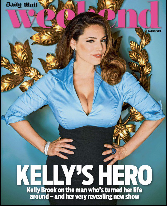 RT @weekendmagazine: @IAMKELLYBROOK speaks to Weekend about the man who's turned her life around - and her very revealing new show! https:/…