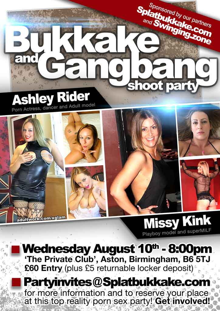 #gangbang 10th AUGUST, 8pm BIRMINGHAM with at 7s9qwZ63pU