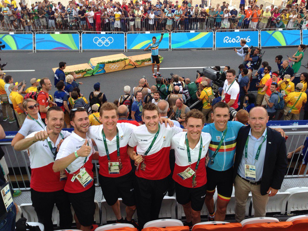 Copacabana officially Belgian now #RiOlympics #BEL #dreamteam #Sporza https://t.co/siBucoEW5n