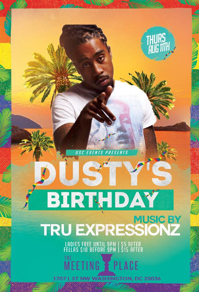 This Thursday Night Will Be Epic @ The Meeting Place 1707 L ST. NW. Wash. DC #PreGameThursdays |Tru Expressionz Live https://t.co/FxWdLoNqcR