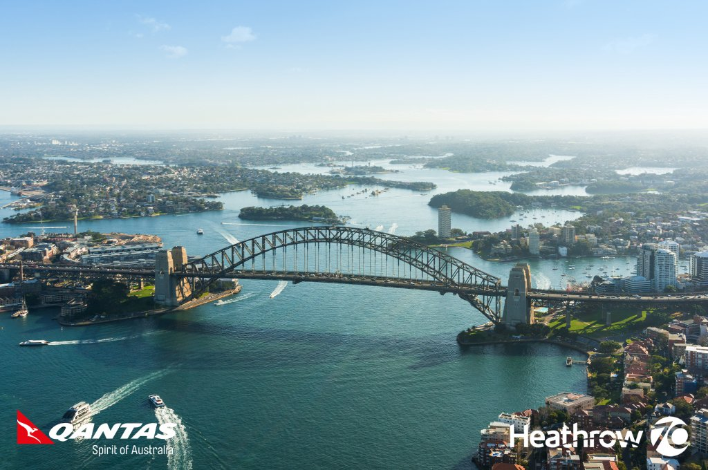 Win the trip of a lifetime to Australia, courtesy of @Qantas!