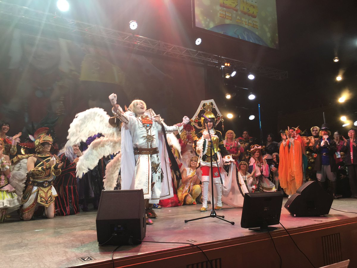 WCS2016 Champion team is Indonesia!!! 世界コスプレサミットサミット優勝チームはインドネシア!!!  #WCS2016 #cosplay #コスプレ #コスサミ https://t.co/772r3doQOZ