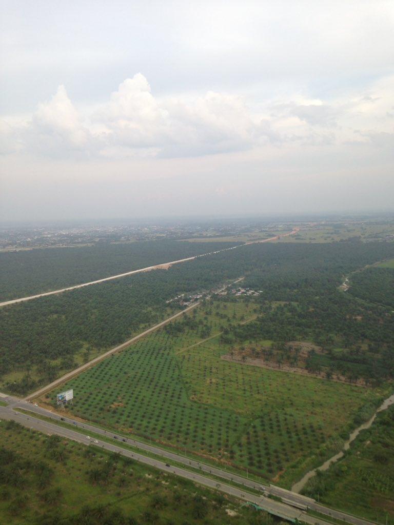 Perkebunan kelapa sawit di Sumatera Utara ... Semoga mampu memakmurkan rakyat #JepretanUdara https://t.co/jlI4dM3QSF