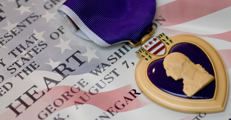 OTD in 1782: GEN G. Washington creates what is known today as the Order of the Purple Heart. #PurpleHeartDay https://t.co/apOvfmhrxm
