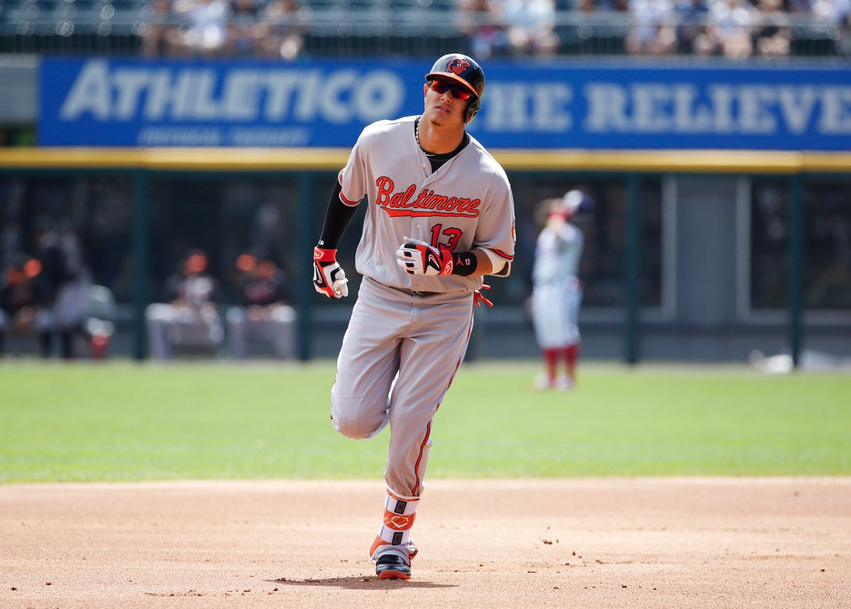 manny machado s scoring summary vs white sox 1st inn hr