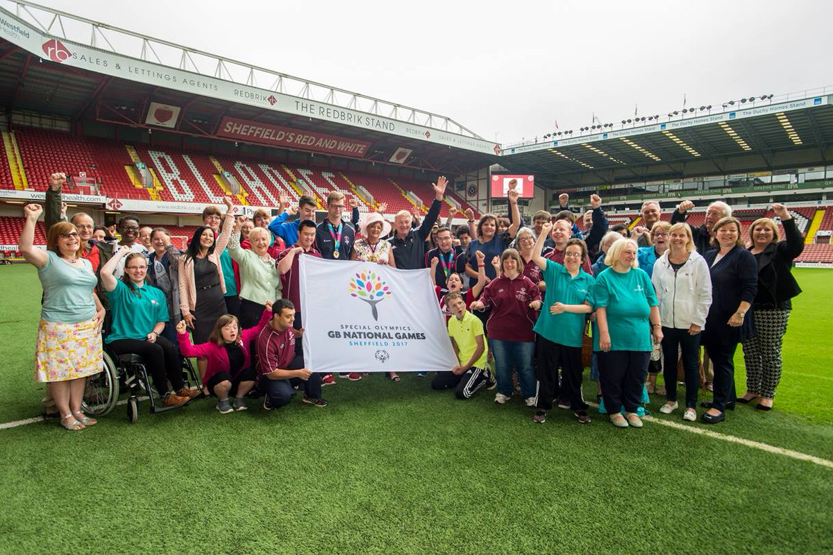 Exactly ONE YEAR TO GO until Special Olympics GB National Games #Sheffield17! Retweet to support our #SOGB athletes! https://t.co/pYKJOWJKg5