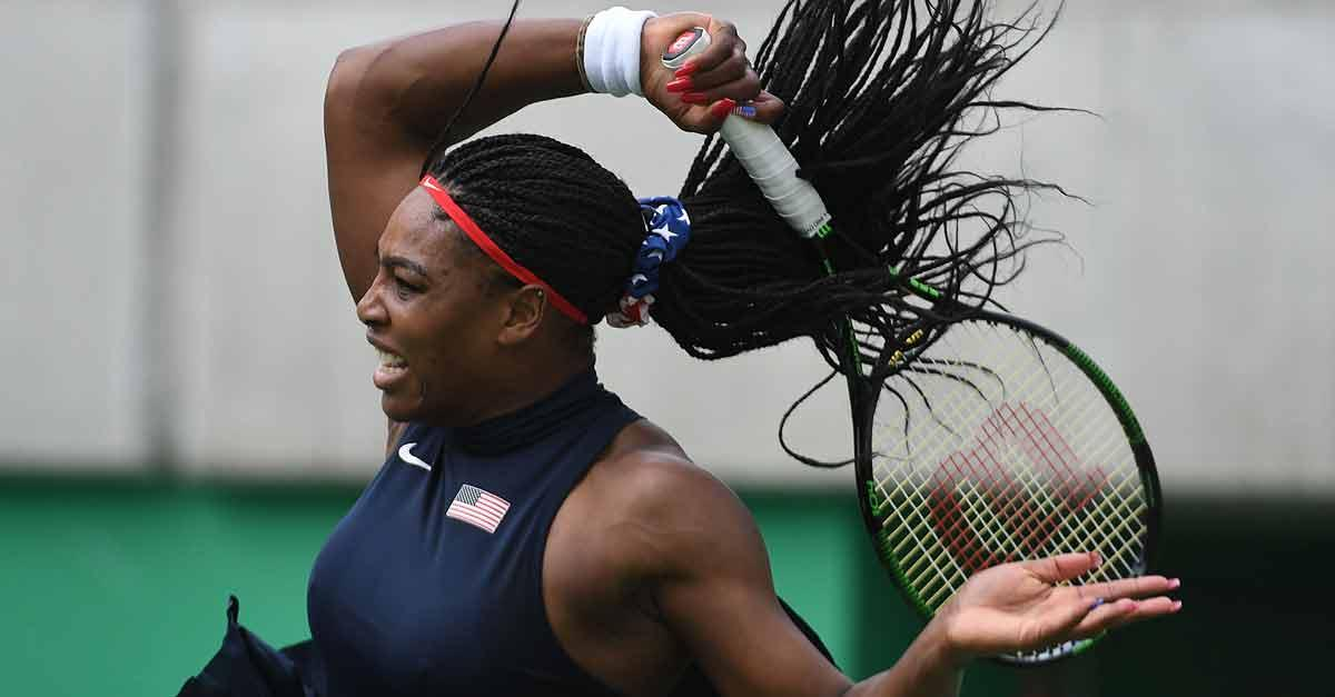 .@serenawilliams will keep #Serving4Gold for #TeamUSA after a routine 1st round win over @Daria_gav at @Rio2016_en! https://t.co/FBkk62V2JN