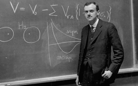 Today in 1902  Paul Dirac was born - quantum physicist who shared a Nobel with Schrödinger. #Science366 https://t.co/ggM71tUDKE