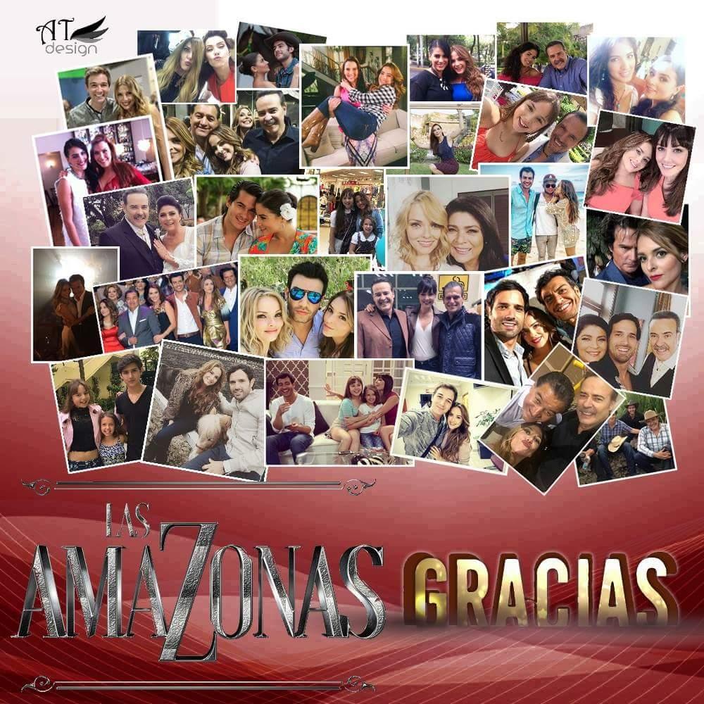 A tod@s los que de alguna manera hicieron posible #LasAmazonas #FinalLasAmazonas!!! Muchas gracias!!! https://t.co/DBuWGrLttq